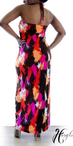 Short Sleeve Convertible Maxi Dress