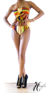 Full Figure Two Piece Swimsuit